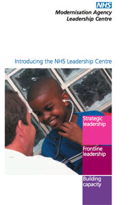 leadership centre promotional flyer thumbnail